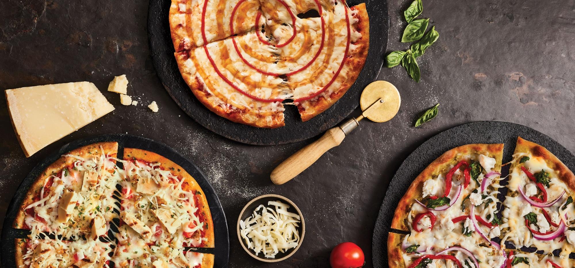 Pizza Pizza présente les «pizzas gourmet minces»: une gamme de recettes d'inspiration gastronomique en format individuel