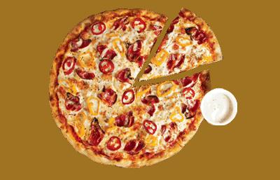 MEDIUM PIZZA + DIP