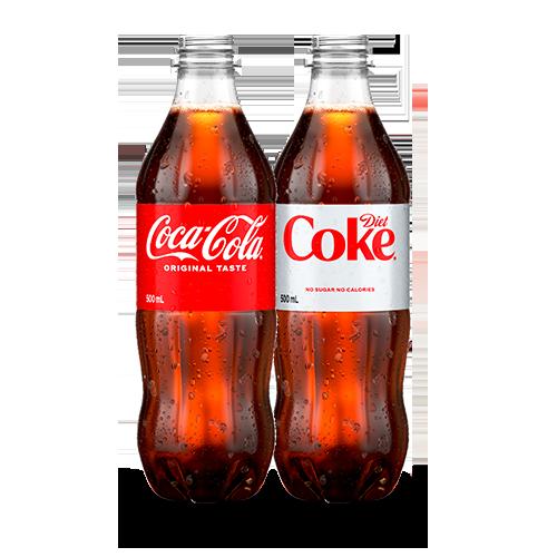 2 Bottled Drinks