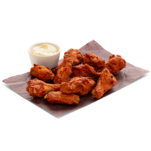 10 Classic Wings with Texas BBQ Sauce