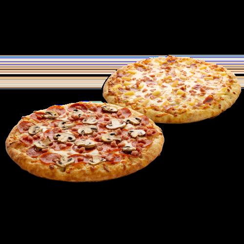 Pizza doubles