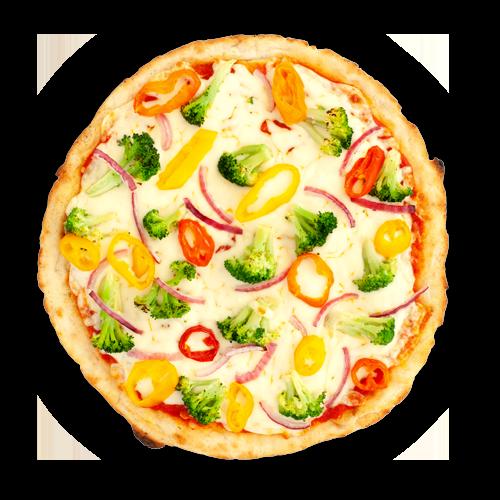 Pizza a croute de chou-fleur
