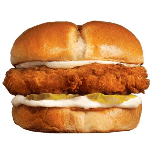 Sandwich au poulet à base de plantes