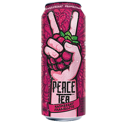 Peace tea framboise