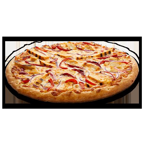 Pizza au poulet Buffalo